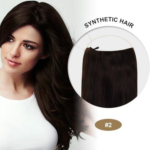 """COCO Synthetic Secret Hair 20"""" Wavy Dark Brown(#2)"""